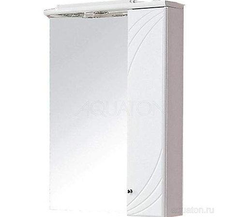 Зеркальный шкаф Aquaton Пинта М правый белый 1A013202PT01R