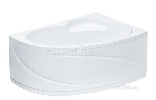 Ванна Santek Шри-Ланка 150х100 R асимметричная белая 1WH302395