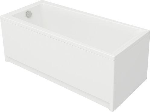 Акриловая ванна LORENA 160 c рамой и панелью