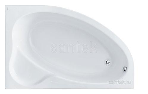 Ванна Santek Эдера 170х100 правая асимметричная 1WH501663