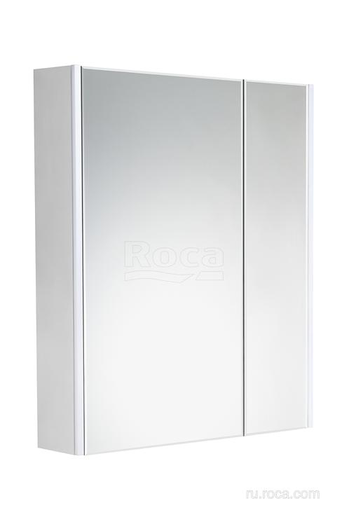 Зеркальный шкаф Roca Ronda 60 белый матовый/бетон ZRU9303007