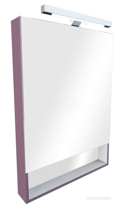 Зеркальный шкаф Roca The Gap 70 фиолетовый ZRU9302752