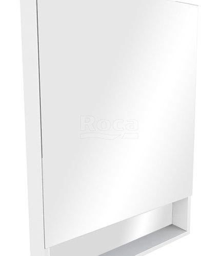 Зеркальный шкаф Roca The Gap 70 белый глянец ZRU9302886