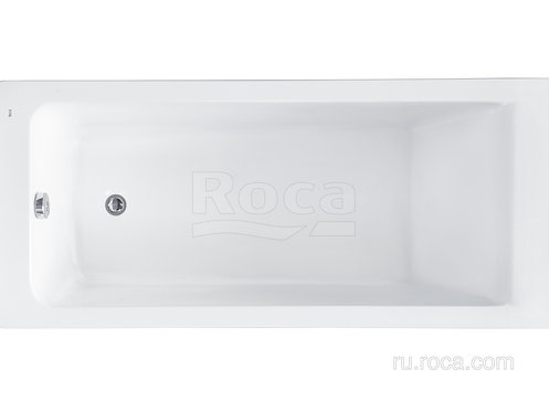 Ванна Roca Easy 150x70 с рамой\панелью\сифоном