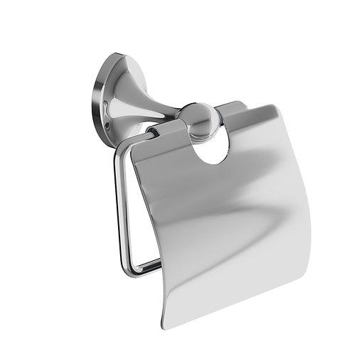 Держатель для туалетной бумаги с крышкой, сплав металлов, Male, IDDIS, MALSSC0i4
