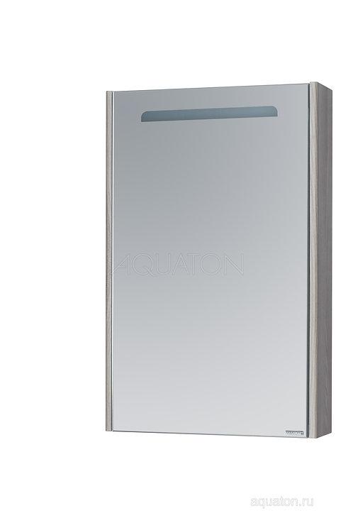 Зеркальный шкаф Aquaton Сильва 60 дуб фьорд 1A216202SIW60