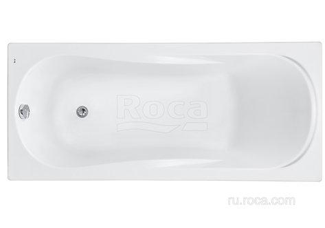 Ванна Roca Uno 160х75 с рамой\панелью\сифоном