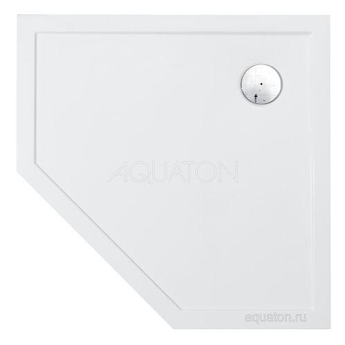 Душевой поддон Aquaton Калифорния 90х90 пятиугольный белый 1A714836CA010