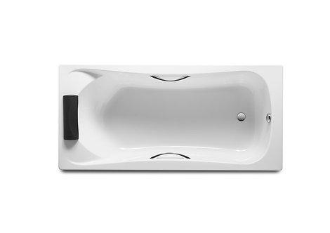 Ванна Roca BeCool 170x80 с рамой\панелью\сифоном(без подголовника и торц.панели)