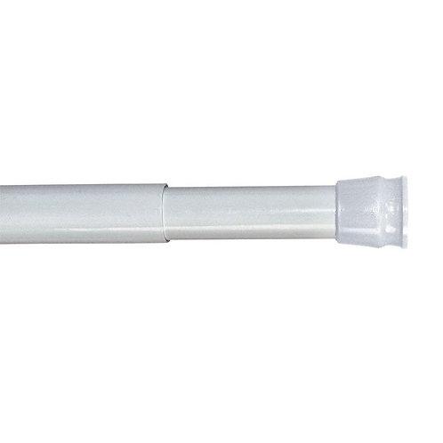 Карниз для ванной комнаты, 110-200 см, белый, Milardo, 010A200M14