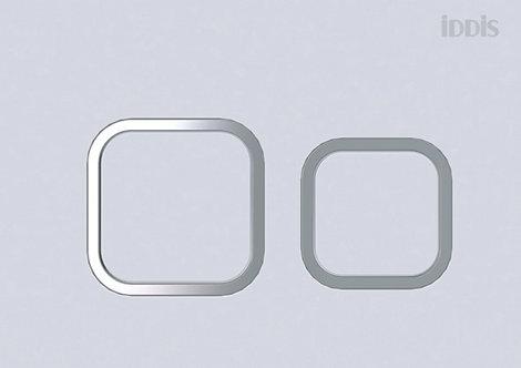 Клавиша смыва, матовый белый, Neofix, 040, IDDIS, NEO40MWI77