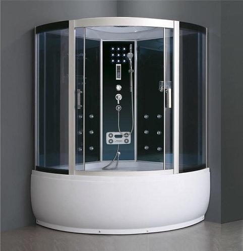 "Душ. кабина ""AOCLEAR"" 150/230 AKL-2300G графит/хр тонир"