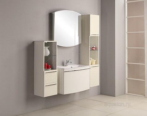 Зеркальный шкаф Aquaton Севилья 80 белый 1A125502SE010