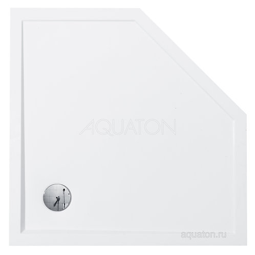Душевой поддон Aquaton Калифорния 100х100 пятиугольный белый 1A714936CA010