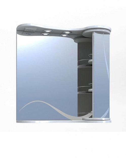 CALLAO 70 Зеркало св с шкаф №24-700