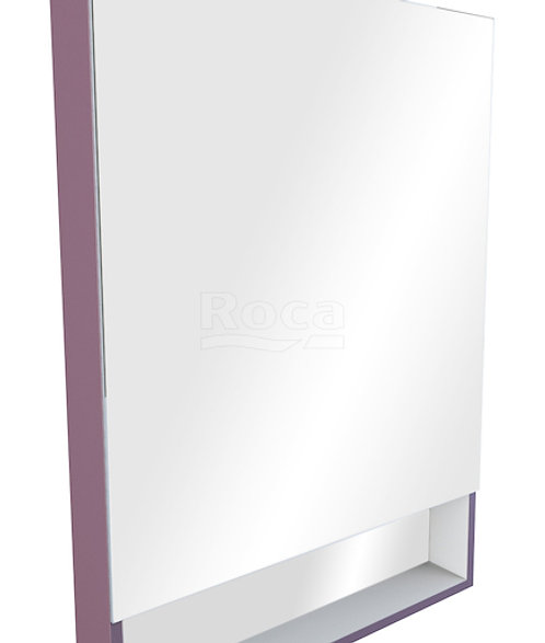 Зеркальный шкаф Roca The Gap 80 фиолетовый ZRU9302753