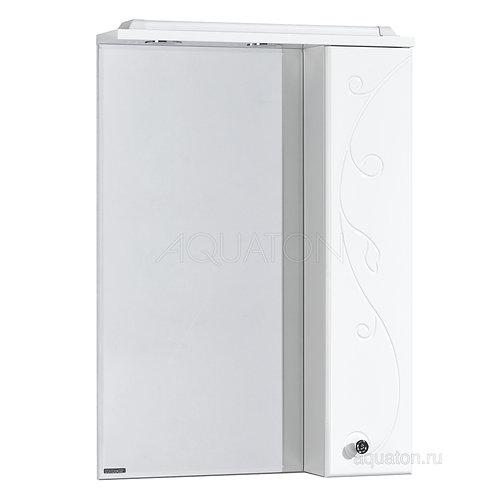Зеркальный шкаф Aquaton Лиана 65 правый белый 1A166202LL01R