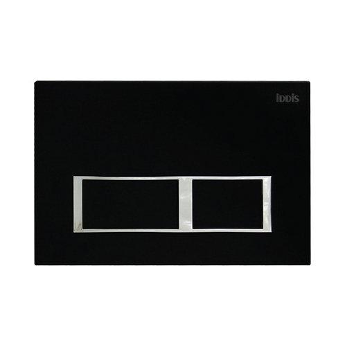 Клавиша смыва, универсальная, матовый черный, Unifix, 061, IDDIS, UNI61MBi77