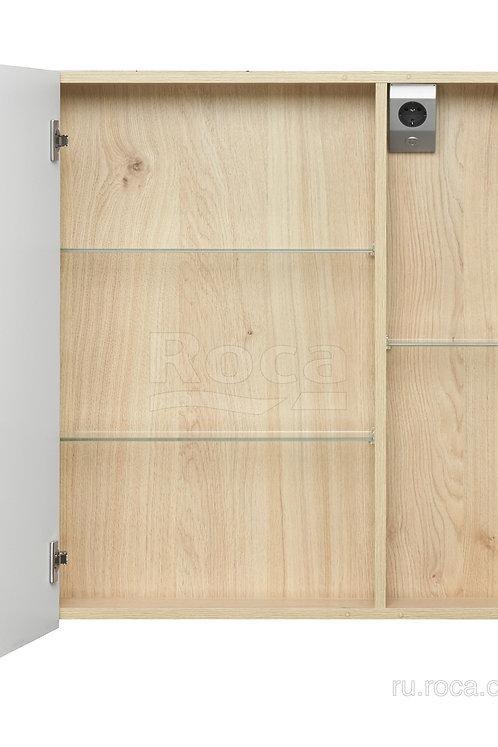 Зеркальный шкаф Roca UP 80 белый глянец ZRU9303017