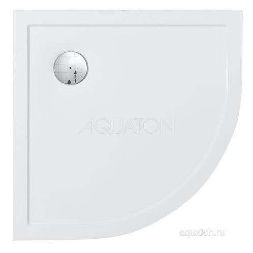 Душевой поддон Aquaton Калифорния 80x80 в четверть круга белый 1A713936CA010