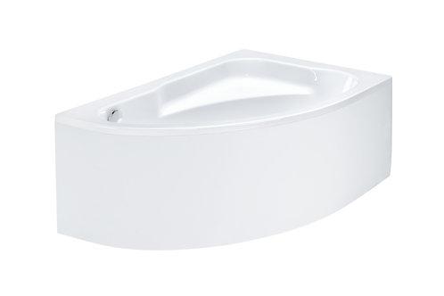 Ванна Roca Welna 160x100 R асимметричная белая ZRU9302998