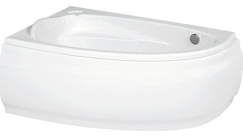 Акриловая ванна JOANNA 150 левая\правая с рамой и панелью
