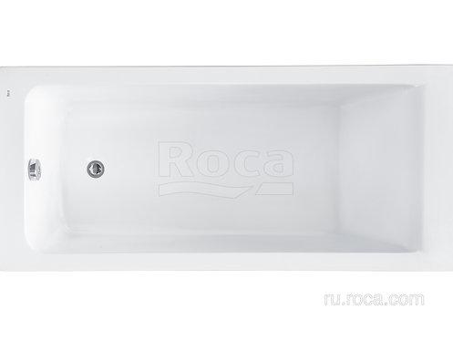 Ванна Roca Easy 170x75 с рамой\панелью\сифоном