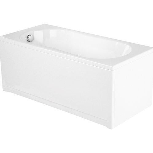 Акриловая ванна NIKE 150 с рамой и панелью