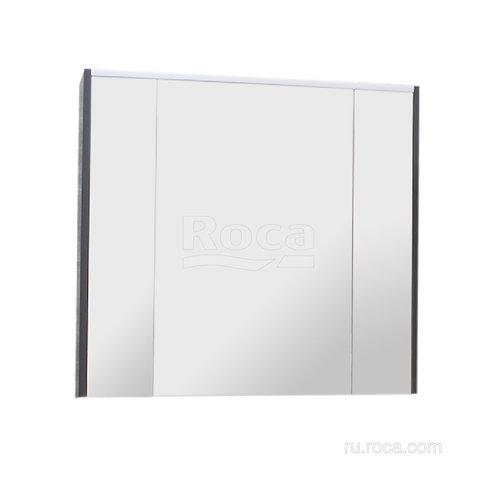 Зеркальный шкаф Roca Ronda 80 белый глянец/антрацит ZRU9302970
