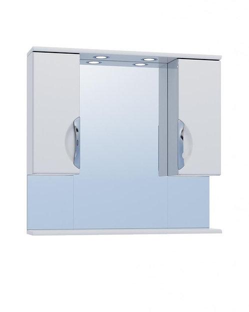 CALLAO(JIKA) 80 Зеркало с 2 шкафами №19-800 св