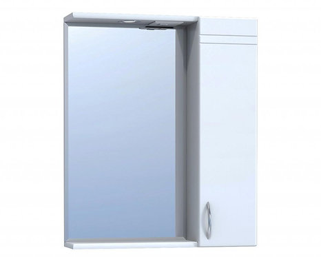 ALESSANDRO 55 Шкаф-зеркало прав 1-550-Прс светом