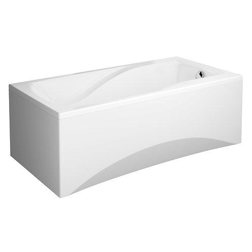 Акриловая ванна ZEN 170 с рамой и панелью