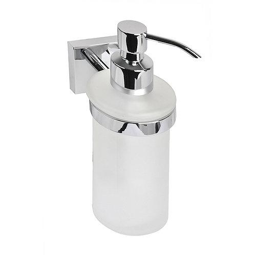 Дозатор для жидкого мыла, матовое стекло, латунь,  Edifice, IDDIS, EDIMBG0i46