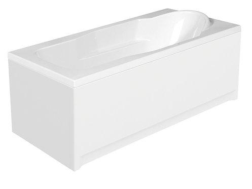 Акриловая ванна SANTANA 140 с рамой и панелью