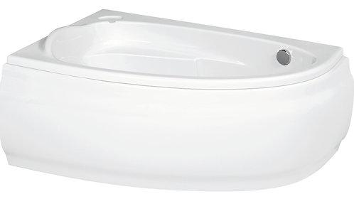 Акриловая ванна JOANNA 140 левая\правая с рамой и панелью
