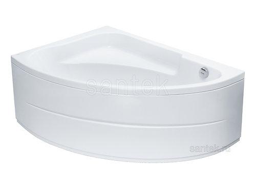 Ванна Santek Гоа 150х100 правая\левая с рамой, панелью и сифоном