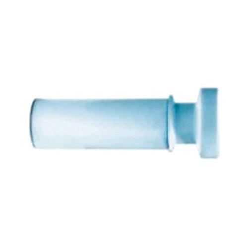 Карниз для ванной комнаты, 110-200 см, голубой, IDDIS, 011A200I14
