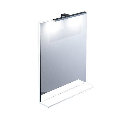 Зеркало, белое, 55 см, Custo, IDDIS, CUS55W0i98