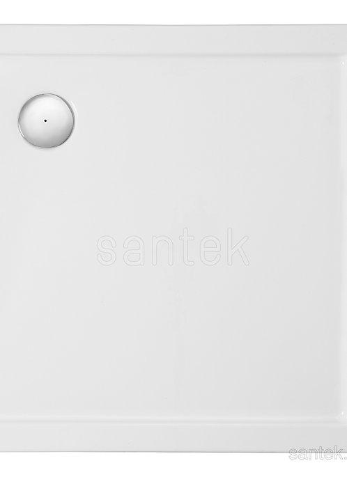 Душевой поддон Santek Палермо 80х80 квадратный белый 1WH302475