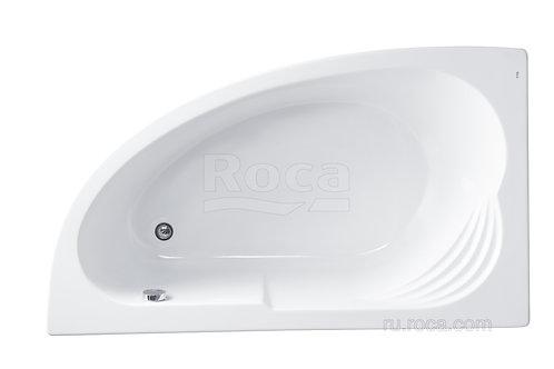 Ванна Roca Merida 170х100 левая\правая с рамой\панелью\сифоном
