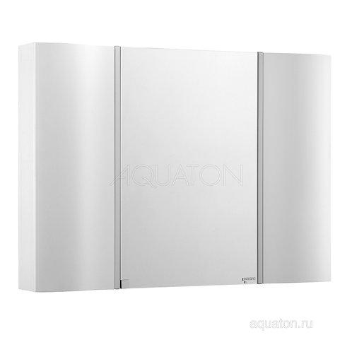 Зеркальный шкаф Aquaton Ондина 100 белый 1A176102OD010
