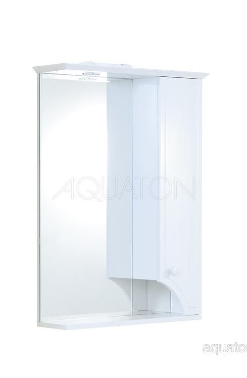 Зеркальный шкаф Aquaton Элен 65 белый 1A219002EN010