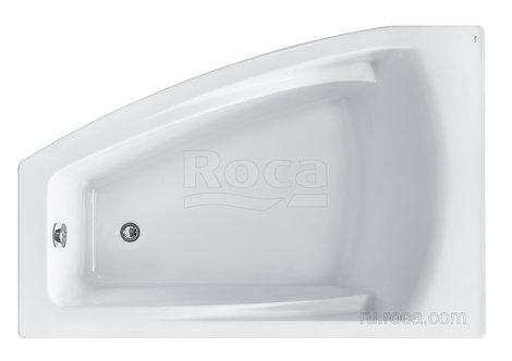 Ванна Roca Hall Angular 150х100 асимметричная левая белая ZRU9302864