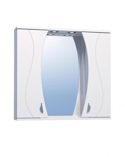 FAINA 80 Зеркало св с шкаф №25-800