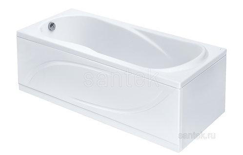 Ванна Santek Каледония 170х75 с рамой, панелью и сифоном
