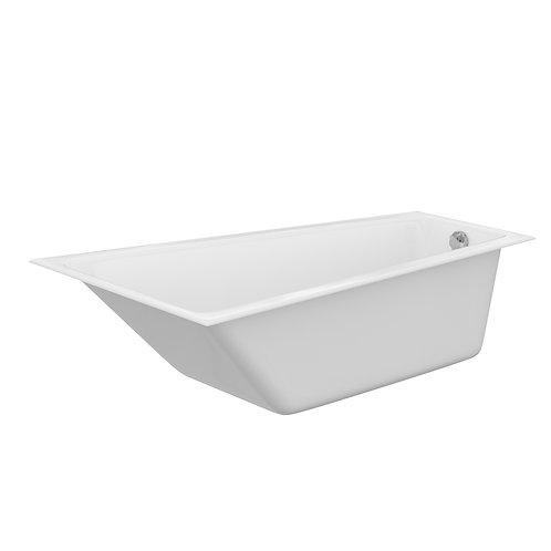 Акриловая ванна CREA 160 правая