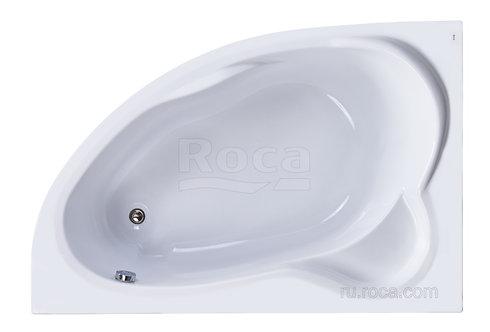 Ванна Roca Luna 170x115 левая\правая с рамой\панелью\сифоном