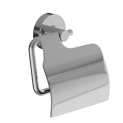 Держатель для туалетной бумаги с крышкой, сплав металлов, Sena, IDDIS, SENSSC0i4