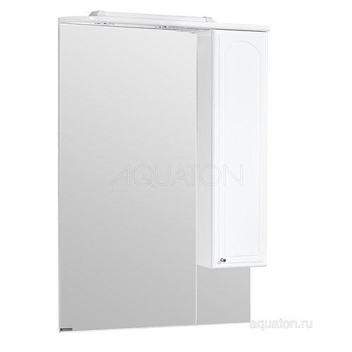Зеркальный шкаф Aquaton Майами 75 правый белый 1A047502MM01R