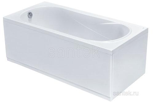 Ванна Santek Касабланка XL 170х80 с рамой панелью и сифоном